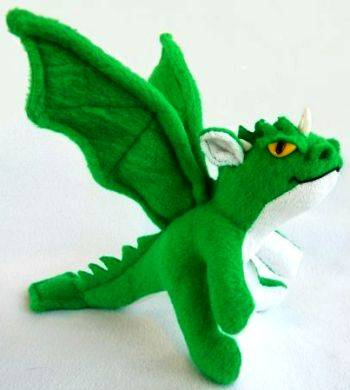 Мягкая дракон своими руками 713